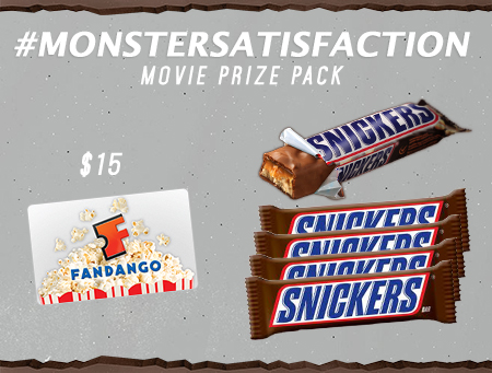 Snickers prizepromo