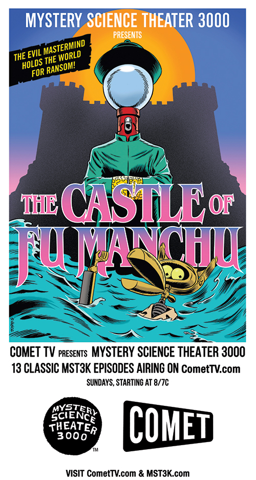 Mst3k collectiblecard front print
