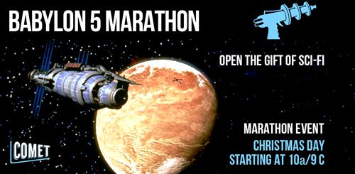 Babylon 5 marathon 500